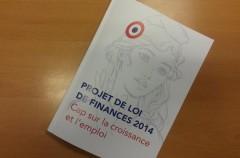François MARC, Budget 2014