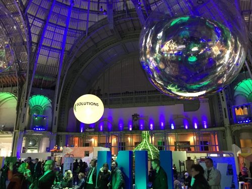 COP 21, Solutions COP 21, Grand Palais, réchauffement climatique