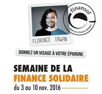 semaine de la finance solidaire,finansol,épargne salariale,utilité sociale,environnementale,pauvreté,mal-logement,énergies renouvelables