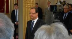 François Hollande, Président de la République, investiture