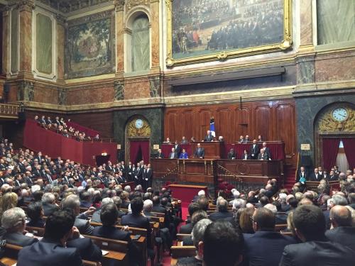 Parlement réunion en Congrès, lutte contre le terrorisme, révision de la Constitution