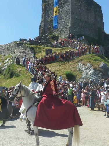 françois marc,la roche maurice,médiévales,château,roch morvan